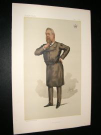 Vanity Fair Print 1885 Earl of Limerick, Freemason